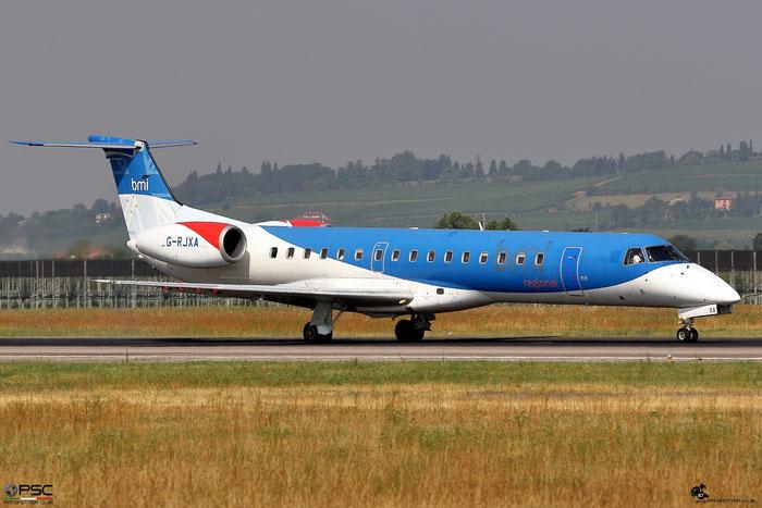 G-RJXA ERJ145EP 145136 BMI Regional @ Aeroporto di Verona 08.07.2017  © Piti Spotter Club Verona