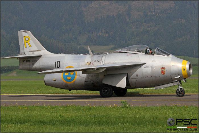 SE-DXB (1955 Saab J-29F Tunnan C/N 29670) © Piti Spotter Club Verona