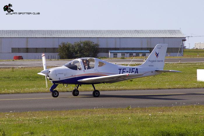 TF-IFA - Tecnam P2002-JF Sierra @ Reykjavik Airport 08.2019 © Piti Spotter Club Verona