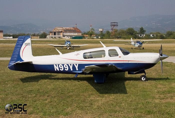 N99YY MOONEY M20R M20P 29-0452 @ Aeroporto Verona Boscomantico © Piti Spotter Club Verona