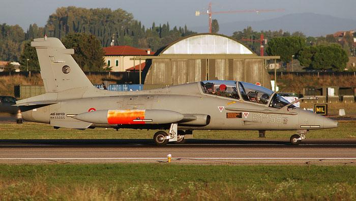 MM55085  61-155  MB339CD  6954/221/CD024  212° Gruppo SV @ Aeroporto di Verona   © Piti Spotter Club Verona
