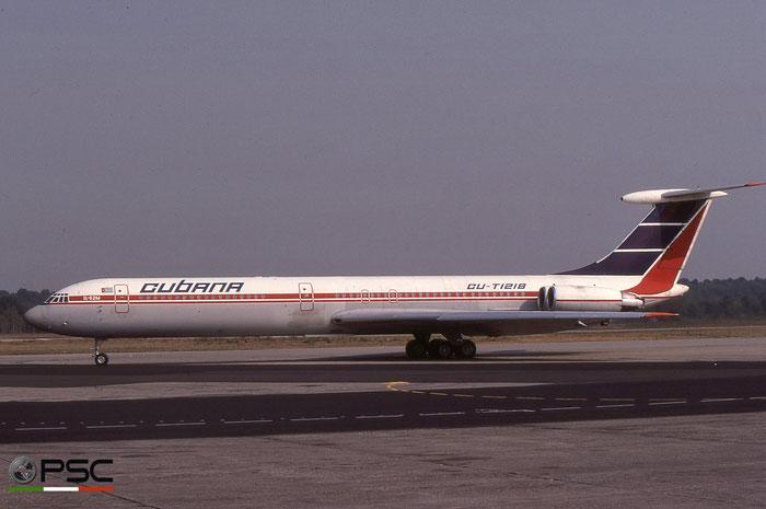 CU-T1218 2035657 Il-62M CU-T1218 Cubana © 2018 courtesy of Marco Ceschi - Piti Spotter Club Verona