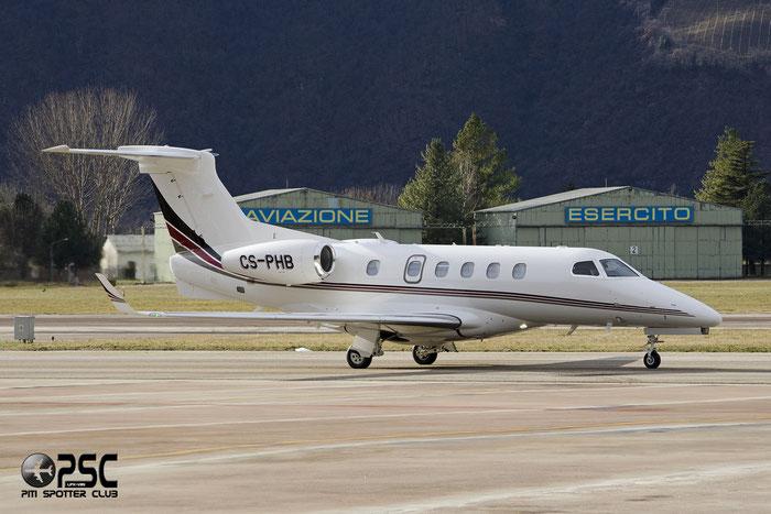 CS-PHB EMB505 50500209 NetJets Europe @ Aeroporto di Bolzano © Piti Spotter Club Verona