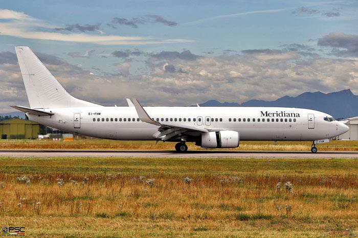 EI-FNW  B737-86N  28642/813  Meridiana  @ Aeroporto di Verona © Piti Spotter Club Verona