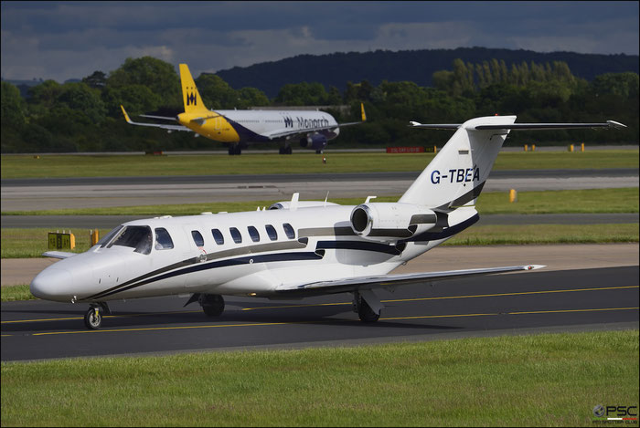 G-TBEA Ce525A 525A-0191 Centreline Air Charter Ltd. @ Manchester Airport 21.06.2015 © Piti Spotter Club Verona