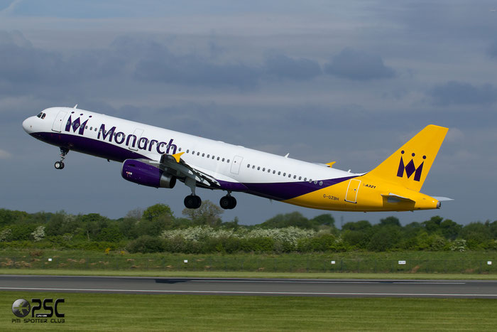 G-OZBH A321-231 2105 Monarch Airlines @ Manchester Airport 13.05.2014 © Piti Spotter Club Verona