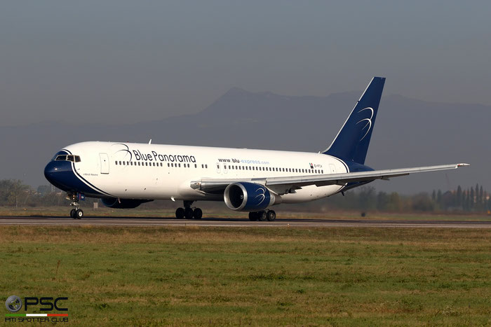 EI-FCV B767-3X2ER 26260/552 Blue Panorama Airlines - @ Aeroporto di Verona - 12/11/2016 © Piti Spotter Club Verona
