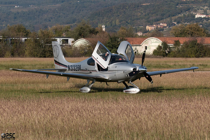 N332BW - Cirrus SR22 @ Aeroporto Verona Boscomantico © Piti Spotter Club Verona