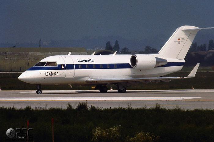 12+03   CL-601  3043 @ Aeroporto di Verona   © Piti Spotter Club Verona