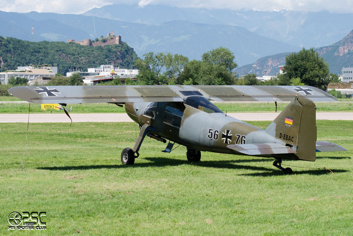 D-EBAC  Dornier Do-27A4  @ Aeroporto di Bolzano © Piti Spotter Club Verona