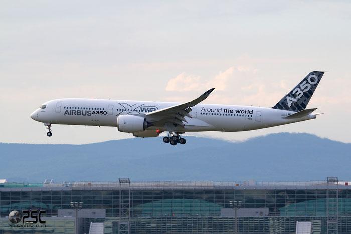 F-WWYB A350-941 5 Airbus Industrie @ Frankfurt Airport 25.07.2014 © Piti Spotter Club Verona