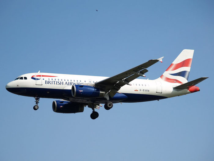 G-EUOA A319-131 1513 British Airways @ London Heathrow  Airport 08.2007 © Piti Spotter Club Verona