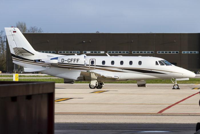 D-CFFF Ce560XLS+ 560-6170 DC Aviation @ Treviso Airport 27.03.2015 © Piti Spotter Club Verona