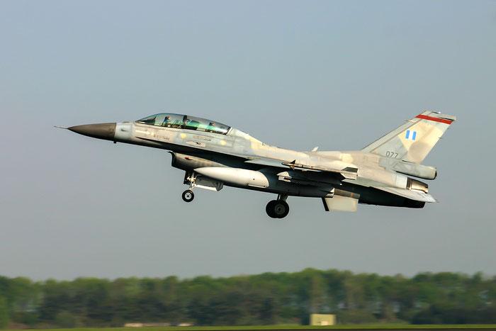 077   F-16D-50P-CF  TD-1  341 Mira © Piti Spotter Club Verona