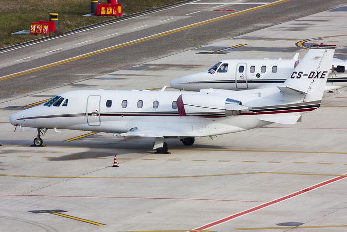 CS-DXE Ce560XLS 560-5578 NetJets Europe @ Trieste Airport 03.01.2013 © Piti Spotter Club Verona