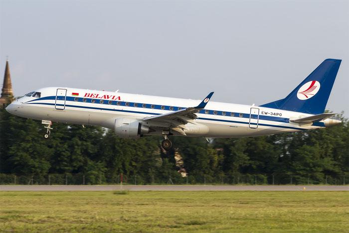 EW-341PO ERJ175LR 17000352 Belavia - Belarusian Airlines @ Treviso Airport 11.08.2014 © Piti Spotter Club Verona
