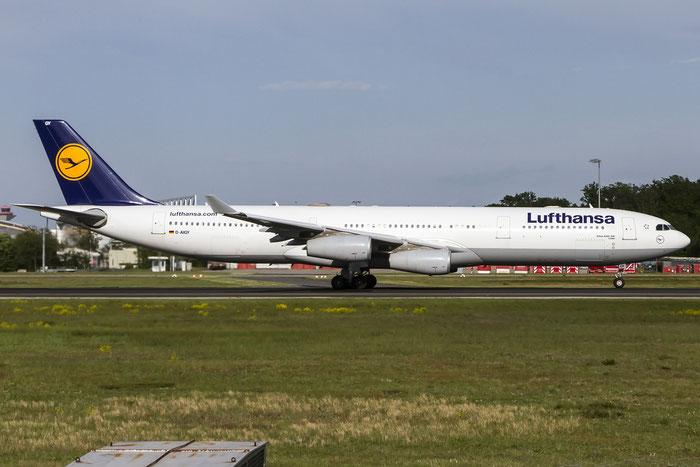 D-AIGY A340-313X 335 Lufthansa @ Frankfurt Airport  08.05.2015 © Piti Spotter Club Verona