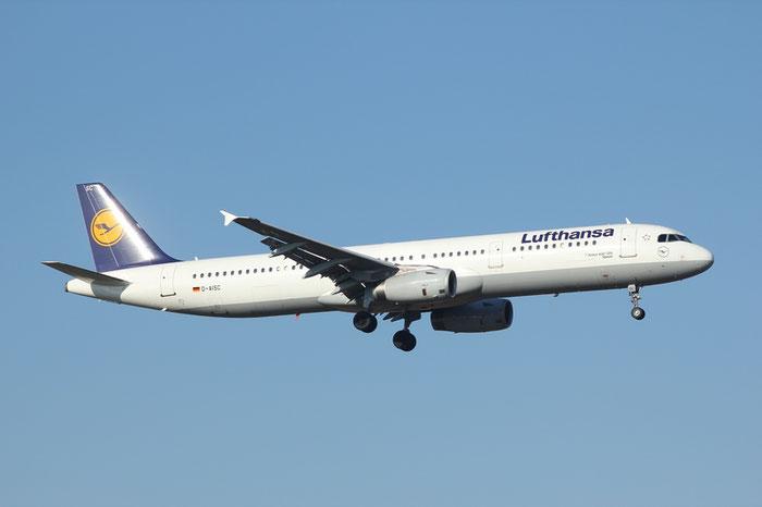D-AISC A321-231 1161 Lufthansa