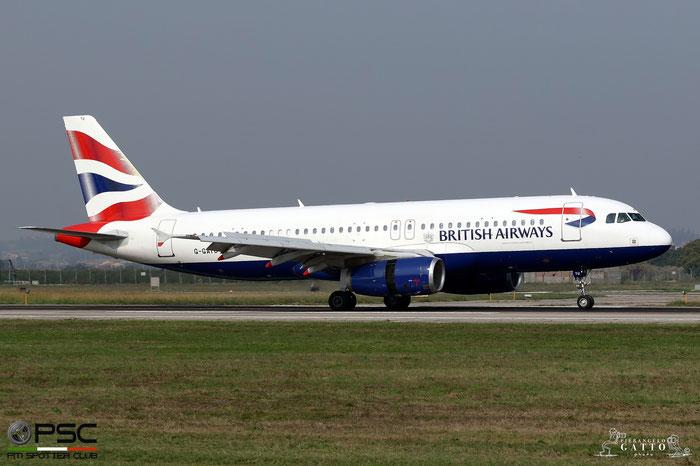 G-GATU A320-232 3089 British Airways @ Aeroporto di Verona 23.09.2017  © Piti Spotter Club Verona