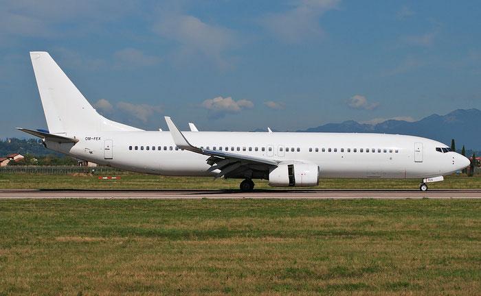 OM-FEX B737-8Q8 28213/50 AirExplore @ Aeroporto di Verona 04.09.2018  © Piti Spotter Club Verona