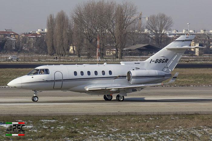 I-BBGR BAe125-900XP HA-0056 Aliven Srl @ Milano Linate Airport 30.12.2014 © Piti Spotter Club Verona