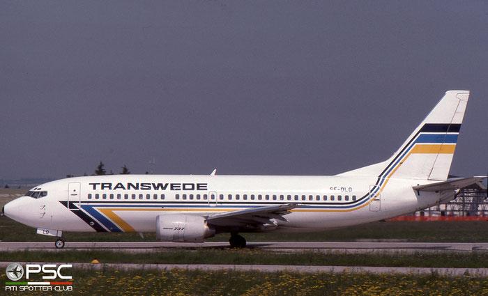 SE-DLO B737-3Y0 23748/1381 Transwede Airways © 2018 courtesy of Marco Ceschi - Piti Spotter Club Verona