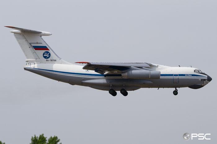 RA-78796 0093491735  Il-76MD  RA-78796  Russian Air Force © Piti Spotter Club Verona