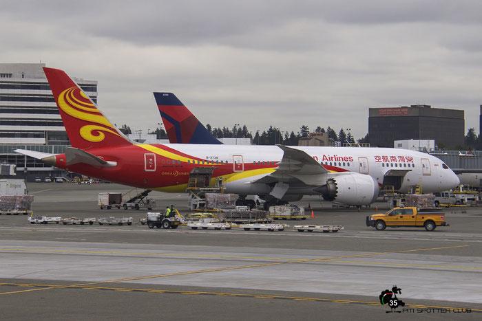 B-2738 B787-8 34940/151 Hainan Airlines @ Seattle Airport 25.09.2015 © Piti Spotter Club Verona