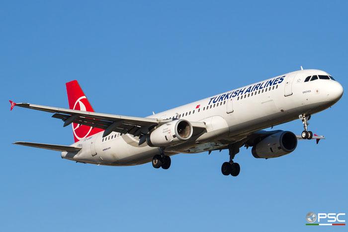 TC-JMM A321-231 2916 Turkish Airlines - THY Türk Hava Yollari @ Bologna Airport 29.11.2016 © Piti Spotter Club Verona