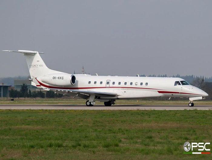 OK-KKG ERJ135BJ 14500873 Grossmann Jet Service @ Aeroporto di Verona 24.03.2007  © Piti Spotter Club Verona
