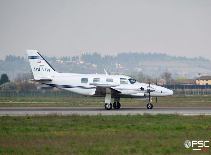 HB-LRV PA-31T 31T-7820017 Thomke AG @ Aeroporto di Verona 24.03.2007  © Piti Spotter Club Verona