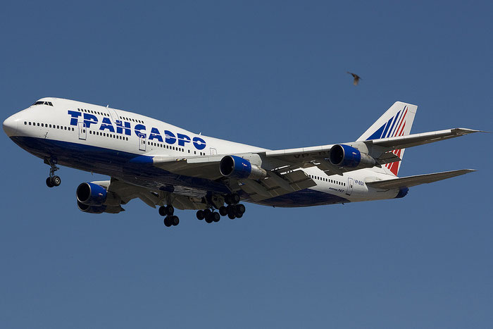 VP-BGX B747-346 24156/716 Transaero Airlines @ Rimini Airport 18.07.2012 © Piti Spotter Club Verona