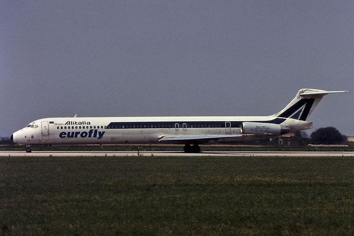 I-DAVR  MD-82  49550/1584  Eurofly  @ Aeroporto di Verona © Piti Spotter Club Verona