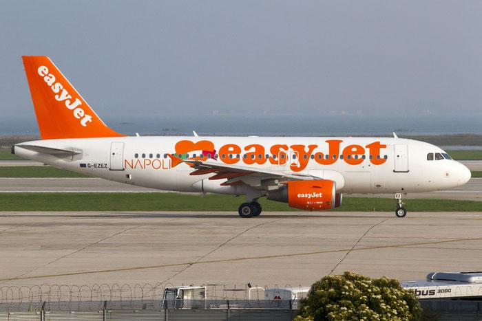 G-EZEZ A319-111 2360 EasyJet Airline @ Venezia Airport 31.03.2014  © Piti Spotter Club Verona