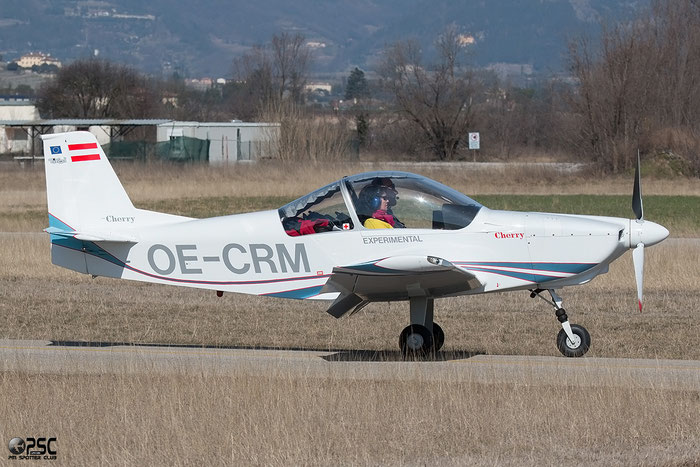 OE-CRM Homebuilt BX-2 Cherry @ Aeroporto Verona Boscomantico © Piti Spotter Club Verona
