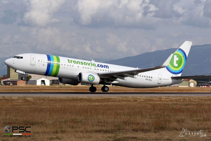 PH-HSJ B737-8K2 42150/4810 Transavia Airlines @ Aeroporto di Verona 02.09.2017  © Piti Spotter Club Verona