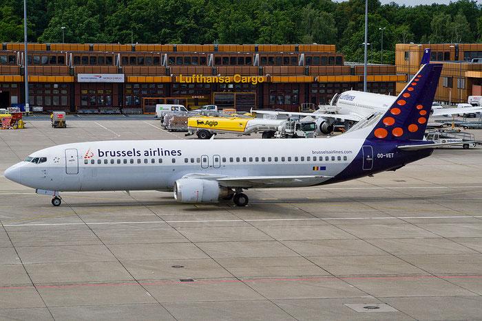OO-VET B737-4Q8 28202/3009 Brussels Airlines @ Berlin Tegel Airport 06.2012 © Piti Spotter Club Verona