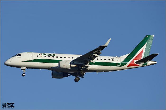 EI-RDI ERJ175STD 17000340 Alitalia CityLiner @ Milano Malpensa Airport 25.01.2014 © Piti Spotter Club Verona