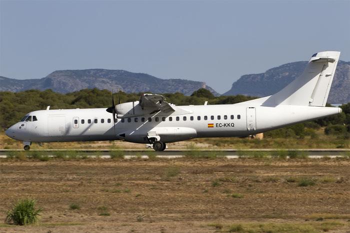 EC-KKQ ATR72-212A 763 Swiftair @ Palma de Mallorca Airport 07.2014 © Piti Spotter Club Verona