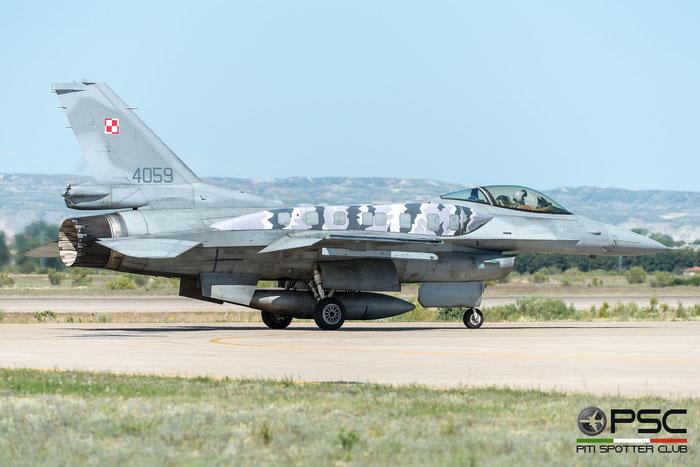 4059   F-16C-52CF  JC-20  31.BLT (3 & 6.elt) © Piti Spotter Club Verona