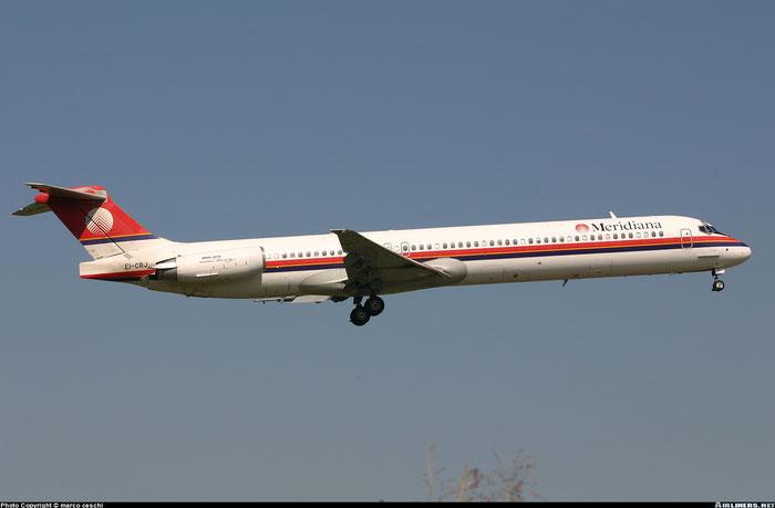 EI-CRJ  MD-83  53013/1738  Meridiana  @ Aeroporto di Verona © Piti Spotter Club Verona