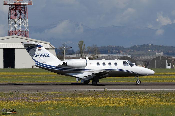 D-IHEB Ce525 525-0064 Silver Cloud Air @ Aeroporto di Verona 13.04.2018  © Piti Spotter Club Verona