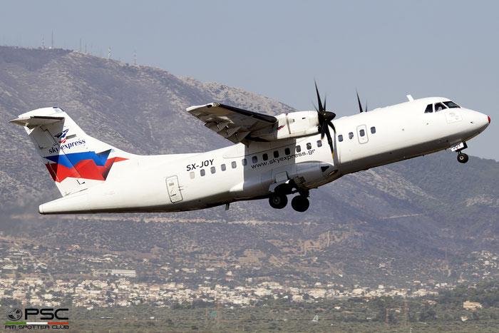 SX-JOY  ATR42-500  457  Sky Express @ Athens 2019 © Piti Spotter Club Verona