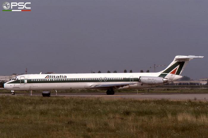 I-DAWF  MD-82  49200/1147  Alitalia  @ Aeroporto di Verona © Piti Spotter Club Verona