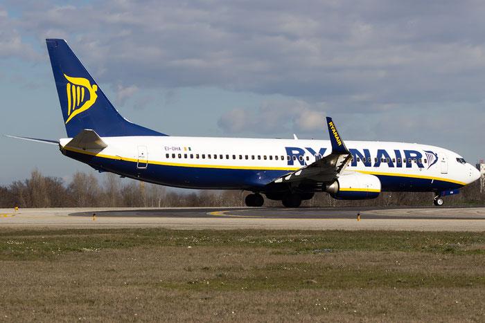 EI-DHA B737-8AS 33571/1642 Ryanair @ Bologna Airport 16.02.2016 © Piti Spotter Club Verona