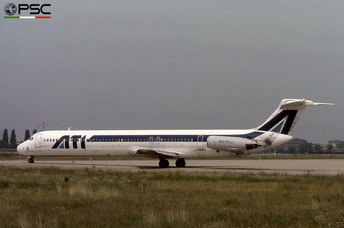 I-DAWV MD-82 49211/1202 ATI - Aero Transporti Italiani © 2018 courtesy of Marco Ceschi - Piti Spotter Club Verona