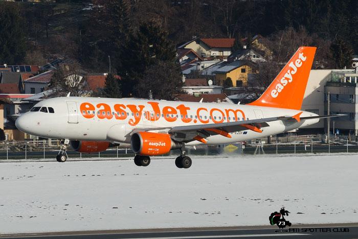 G-EZOI A320-214 6562 EasyJet Airline @ Innsbruck Airport 24.01.2016  © Piti Spotter Club Verona