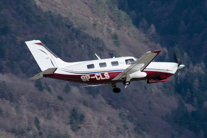 SP-CLS Piper PA-46 PA46 L1P 48897 @ Aeroporto di Bolzano © Piti Spotter Club Verona