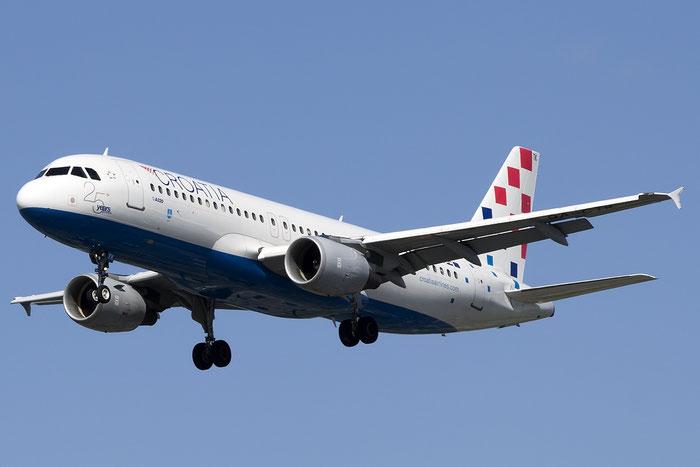 9A-CTK A320-214 1237 Croatia Airlines @ London Heathrow Airport 13.05.2015 © Piti Spotter Club Verona