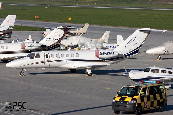 SE-RMJ Ce525B 525B-0183 Mjair Management AB @ Innsbruck Airport 26.10.2013 © Piti Spotter Club Verona